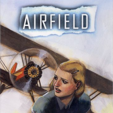 Cover of AIRFIELD, historical fiction by Jeanette Ingold
